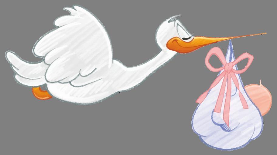 Blahopřání k narození miminka, obrázková blahopřání - miminko přáníčko